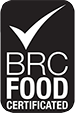 BRC FOOD CERTIFICATED logo